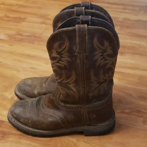 Justin work boot